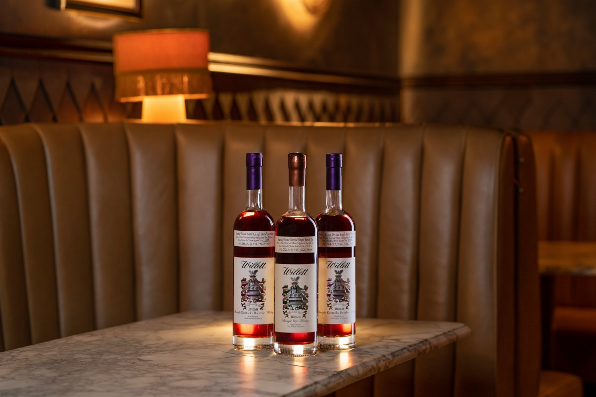 Willet family estate bourbons and ryes