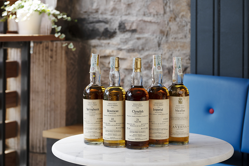 American Corti Brothers Independent Bottlers and Grocers Whisky Collection