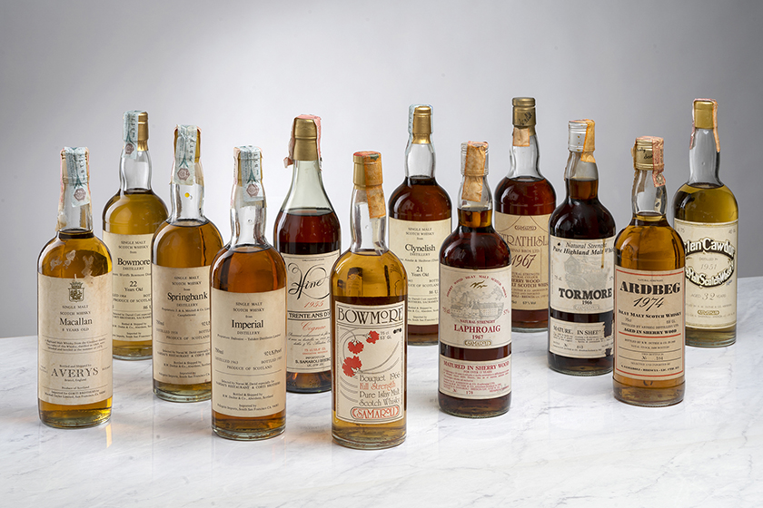 Whisky collection of celebrated connoisseur and collector, Emmanuel Dron