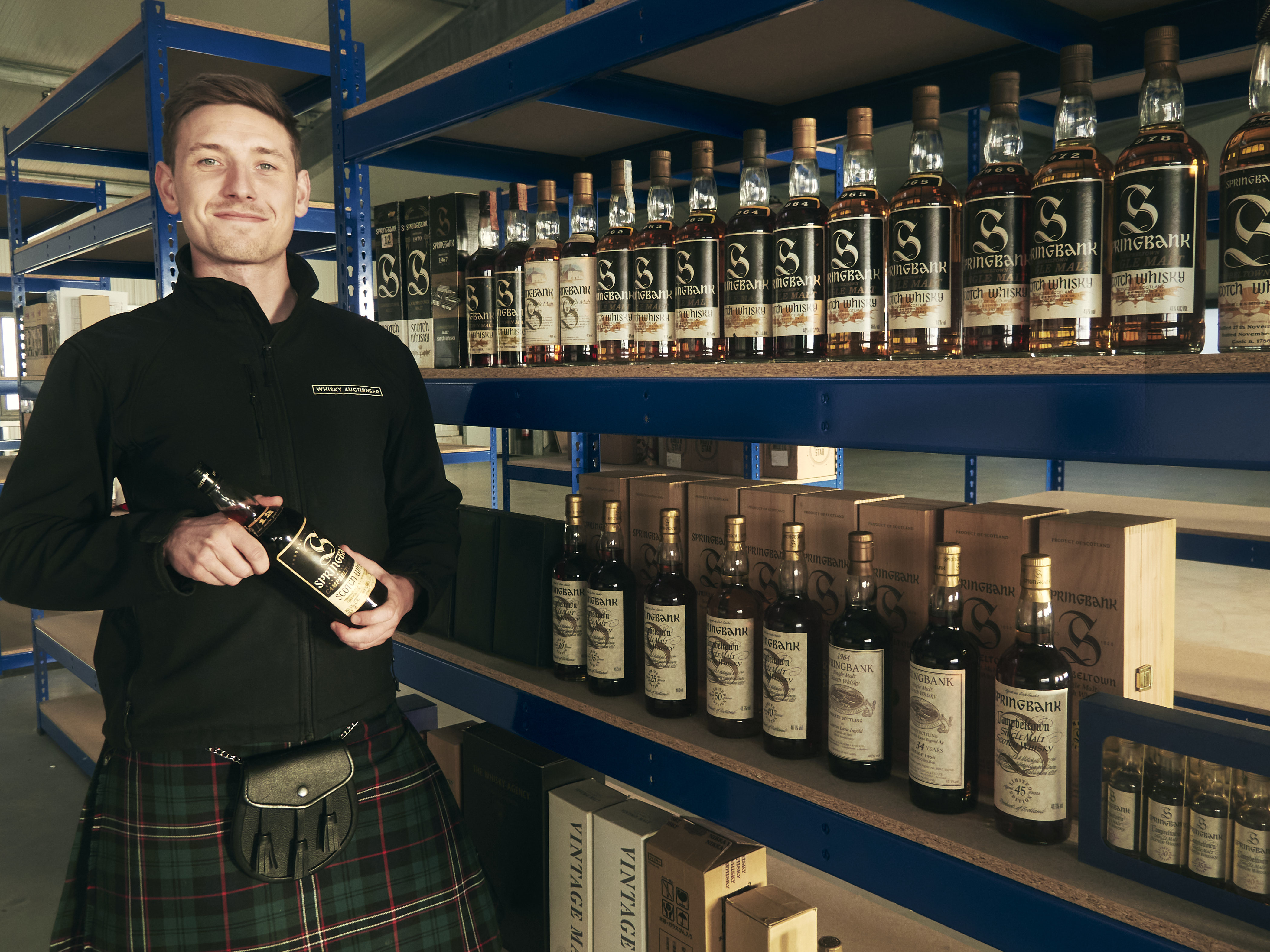 German Office Whisky Auctioneer