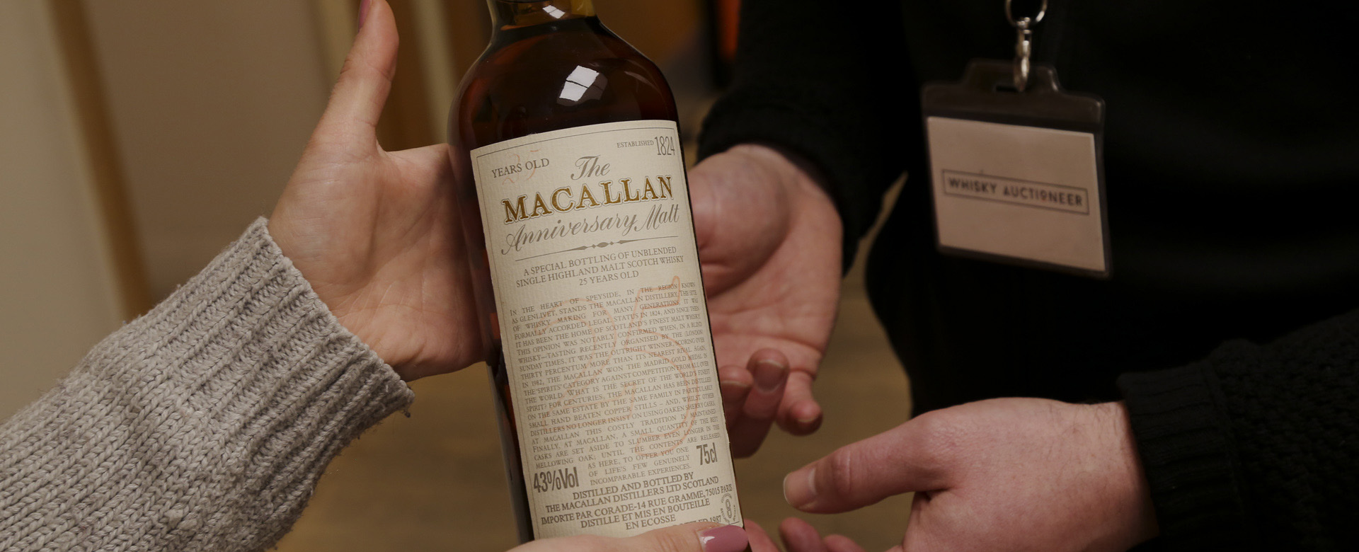tips for selling whisky at auction