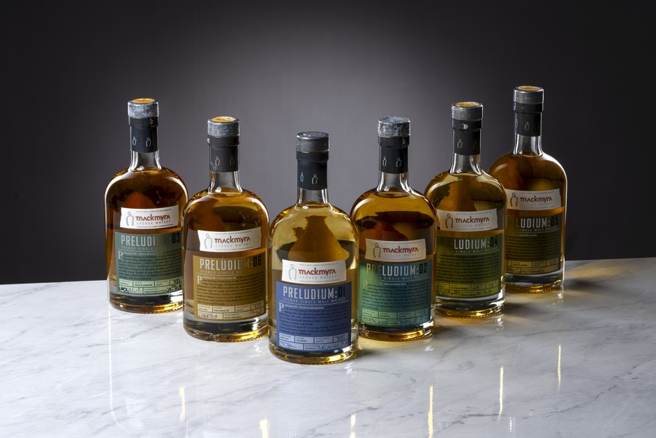 Mackmyra Swedish Distillery Preludium Series