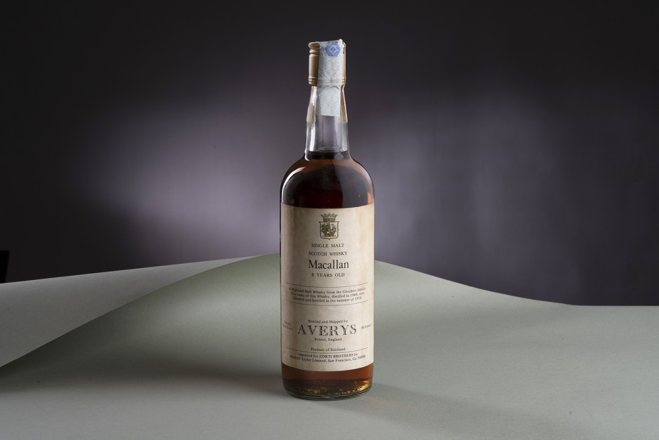 The Macallan 1969 8 Year Old for Corti Brothers