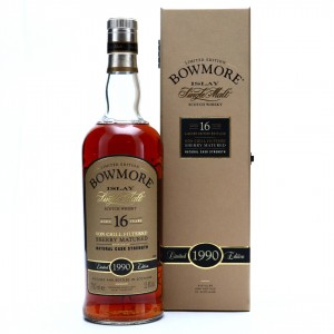 Bowmore 1990 Sherry Matured 16 Year Old