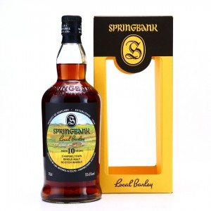 Springbank 2010 Local Barley 10 Year Old