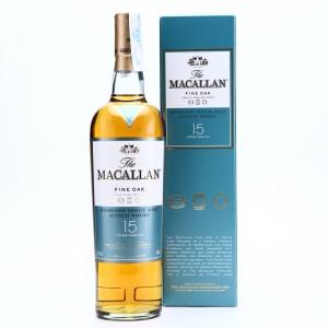 Macallan 15 Year Old Fine Oak