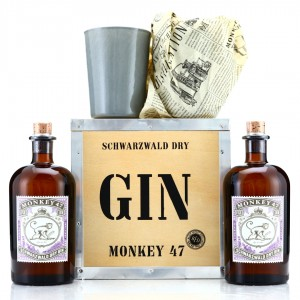 Monkey 47 Schwarzwald Dry Gin Gift Pack 2 x 50cl