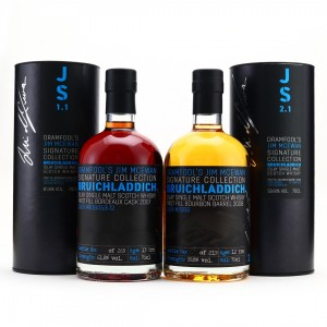 Bruichladdich Dramfool Jim McEwan Signature Collection 1.1 & 2.1 / Bottle #16