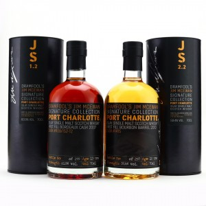 Port Charlotte Dramfool Jim McEwan Signature Collection 1.2 & 2.2 / Bottle #088