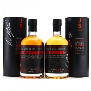 Octomore Dramfool Jim McEwan Signature Collection 1.3 & 2.3 / Bottle #006