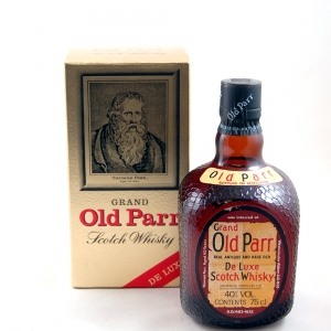Grand Old Parr Deluxe 12 year old 75cl Front