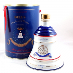 Bell's Decanter Birth of Princess Beatrice Front