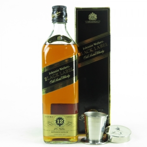 Johnnie Walker Black Label 12 Year Old / Including Pocket Cup