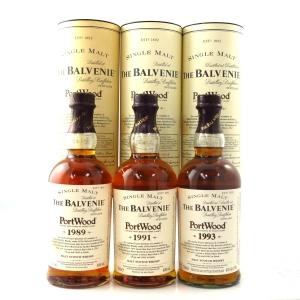 Balvenie Port Wood Series 3 x 70cl