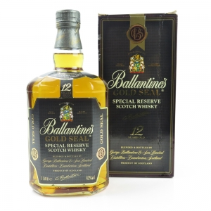 Ballantines 12 Year Old Gold Seal 1 Litre