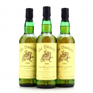 Highland Park 1990 The Dragon 19 Year Old Cask #900003 3 x 70cl