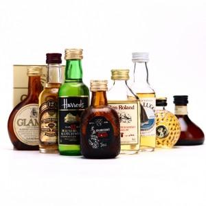 Scotch Whisky Miniatures x 8