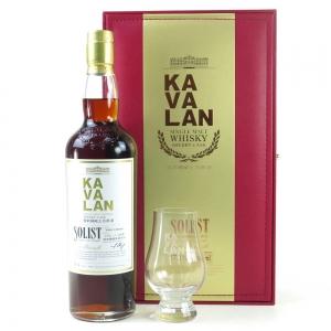 Kavalan Solist Sherry Cask Gift Set / Including Glass