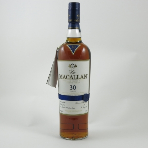 Macallan 30 Year Old Sherry Oak (US Import) 75cl front