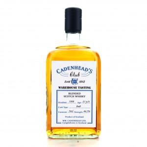 Blended Scotch 1998 Cadenhead's Club21 Year Old Warehouse Tasting
