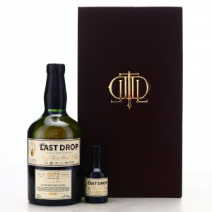 Lochside 1972 The Last Drop 44 Year Old / Including Miniature