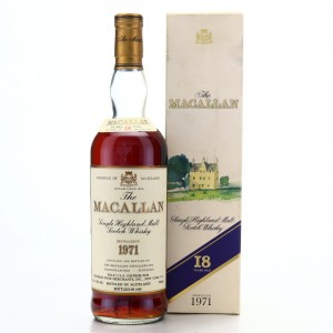 Macallan 1971 18 Year Old / Premier Import