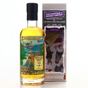 Nantou Omar 4 Year Old That Boutique-y Whisky Company Batch #1
