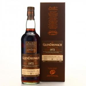 Glendronach 1972 Single Oloroso Cask 40 Year Old #710 / Batch 7