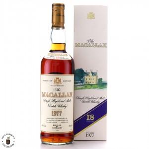 Macallan 1977 18 Year Old / German Import
