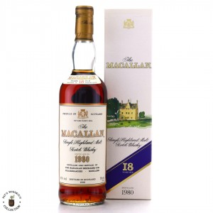 Macallan 1980 18 Year Old / German Import