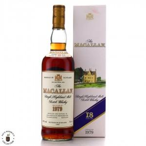 Macallan 1979 18 Year Old