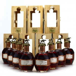 Blanton's Straight from the Barrel Dumped 2020 8 x 70cl / Barrel #134 Full Stopper Collection