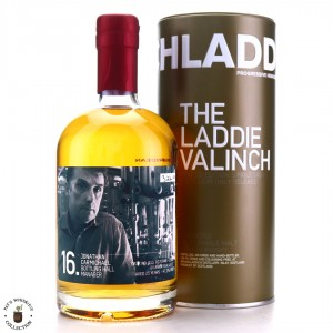 Bruichladdich 1990 Jonathan Carmichael Valinch 25 Year Old / Calvados Finish