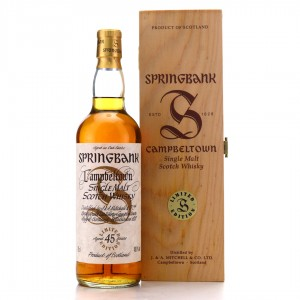 Springbank 45 Year Old Millennium Limited Edition