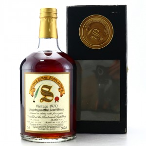 Glendronach 1970 Signatory Vintage 20 Year Old