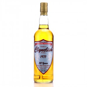 Clynelish 1971 Whisky-Fässle 32 Year Old