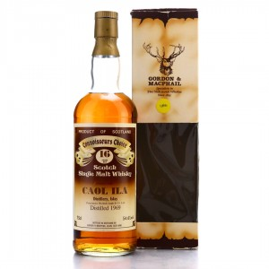 Caol Ila 1969 Gordon and MacPhail 16 Year Old Cask Strength