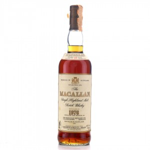 Macallan 1976 18 Year Old / Giovinetti Import