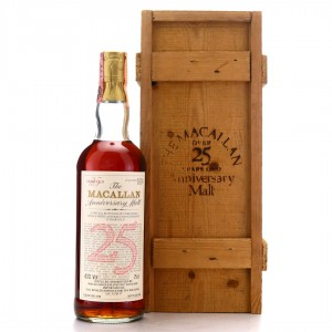 Macallan 1958 Anniversary Malt 25 Year Old / Rinaldi Import