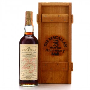 Macallan 1957 Anniversary Malt 25 Year Old / Rinaldi Import