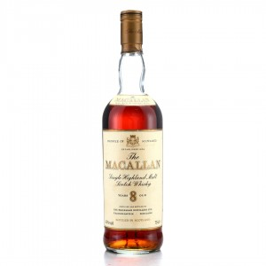 Macallan 8 Year Old 1980s / Codec Import