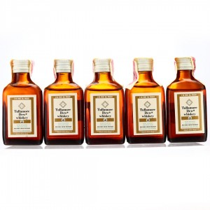 Tullamore Dew 8 Year Old Miniatures x 5 1968