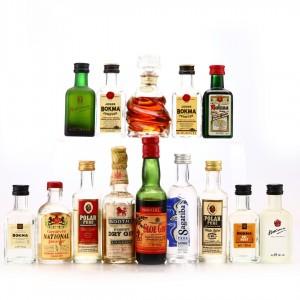 Spirit & Liqueur Miniatures x 14