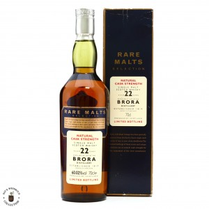 Brora 1972 Rare Malts 22 Year Old / 60.02%
