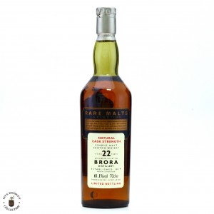 Brora 1972 Rare Malts 22 Year Old / 61.1%