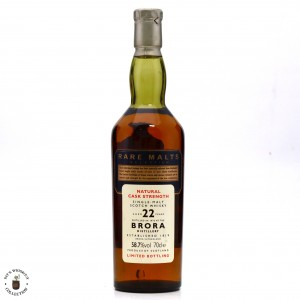 Brora 1972 Rare Malts 22 Year Old / 58.7%