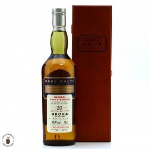 Brora 1975 Rare Malts 20 Year Old / 54.9%