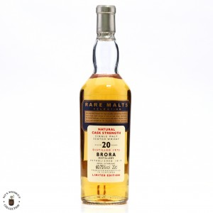 Brora 1975 Rare Malts 20 Year Old 20cl / 60.75%