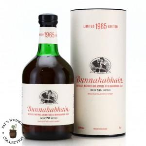 Bunnahabhain 1965 Single Sherry Cask 35 Year Old #7159 / Feis Ile 2001