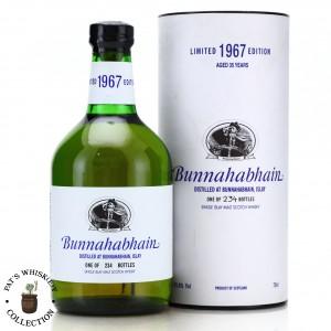 Bunnahabhain 1967 Single Cask 35 Year Old #3316 / Feis Ile 2002